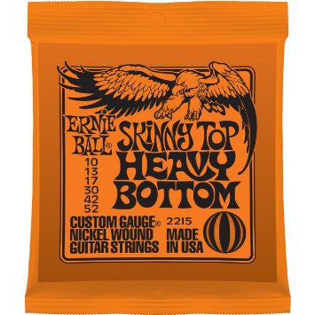 Ernie Ball 2215 Skinny Top Heavy Bottom Set