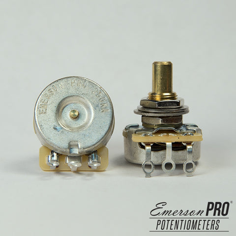 Emerson Pro CTS 250K Short Solid Shaft Potentiometer