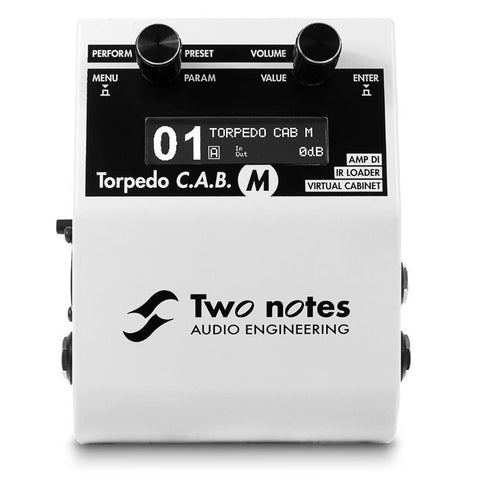 TWO NOTES C.A.B. M