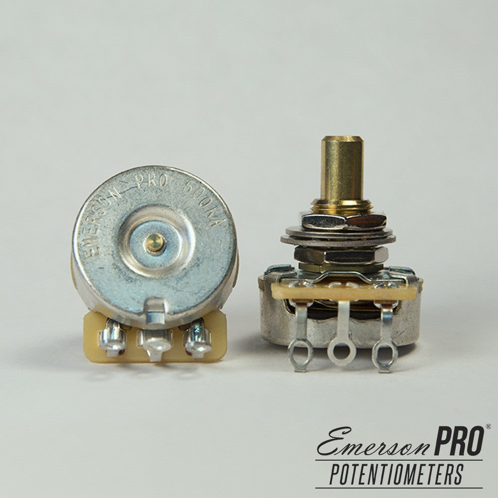 Emerson Pro CTS 500K Short Solid Shaft Potentiometer