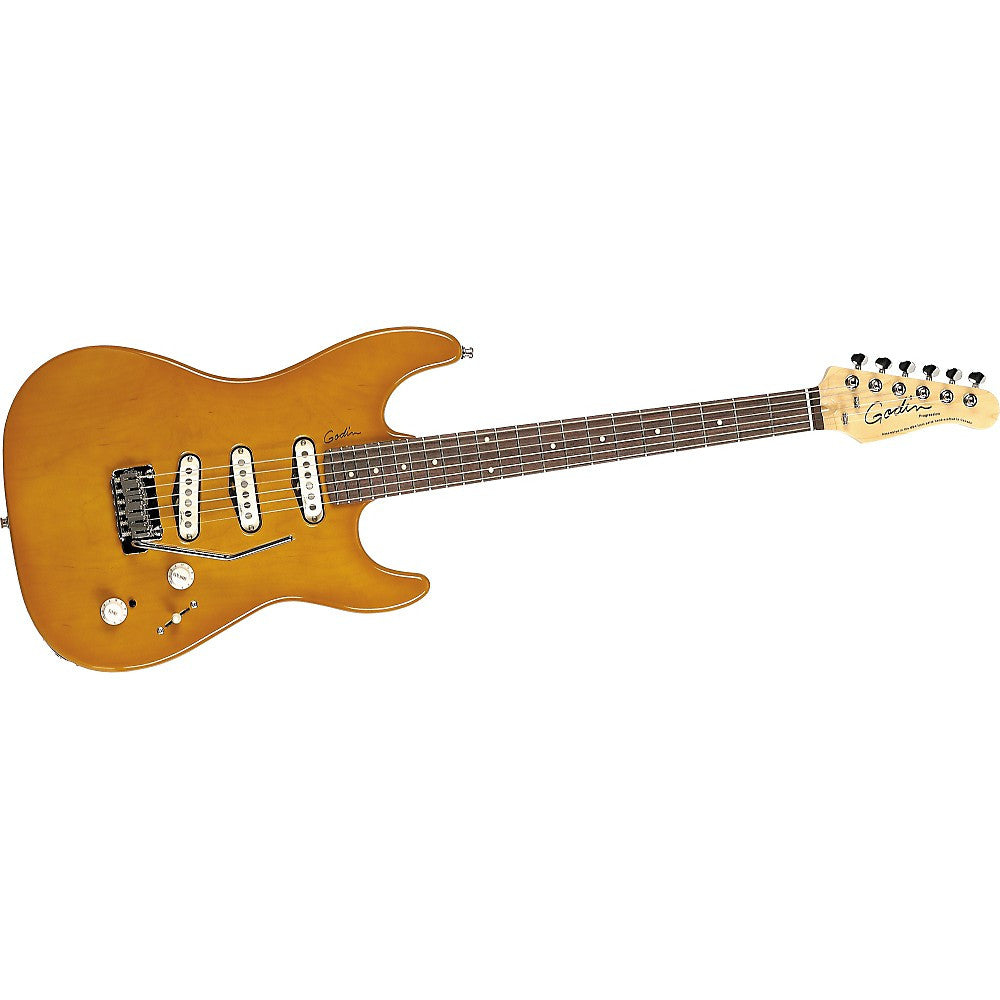 Godin Progression Electric Guitar - Trans Caramel/Rosewood