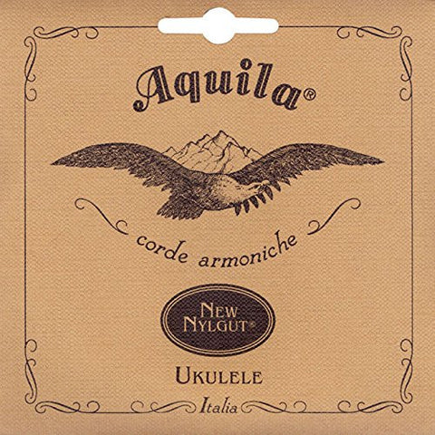 Aquila 9U New Nylgut Single Wound Alto Ukulele String - (Low G 4th Tuning)