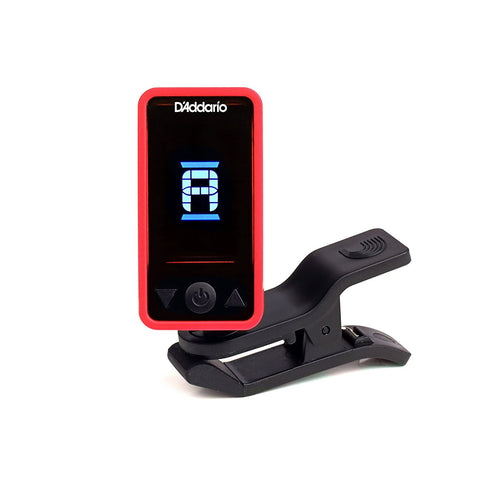 D'Addario Planet Waves Eclipse Tuner - Red