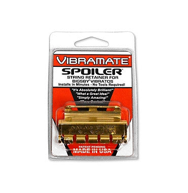 Allparts Bigsby Vibramate Spoiler's String Retainer For Bigsby Vibratos - Gold