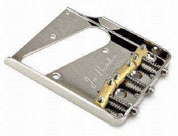 Allparts Joe Barden Custom Vintage Style Bridge For Tele - Nickel