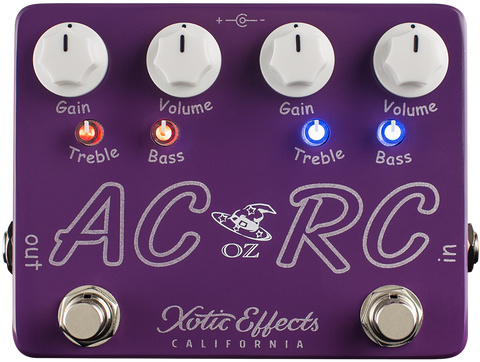 Xotic Effects AC/RC Oz Noy Pedal (USD $196)