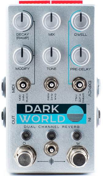 CHASE BLISS DARK WORLD DUAL CHANNEL REVERB ($349 USD)
