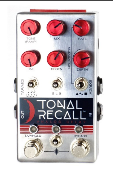 CHASE BLISS TONAL RECALL (RED KNOB) ANALOG DELAY ($499 USD)