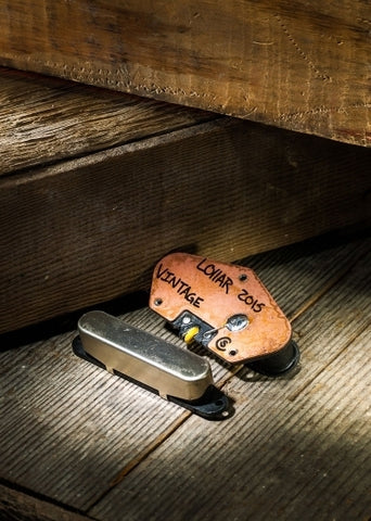 LOLLAR 10-102-11-1 TELE VINTAGE NECK NICKEL PICKUP ($105 USD)