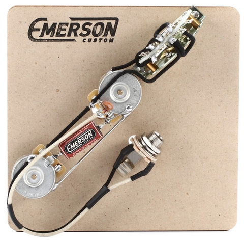 Emerson Thinline Tele 3-Way Pre-wired Assembly - 250k