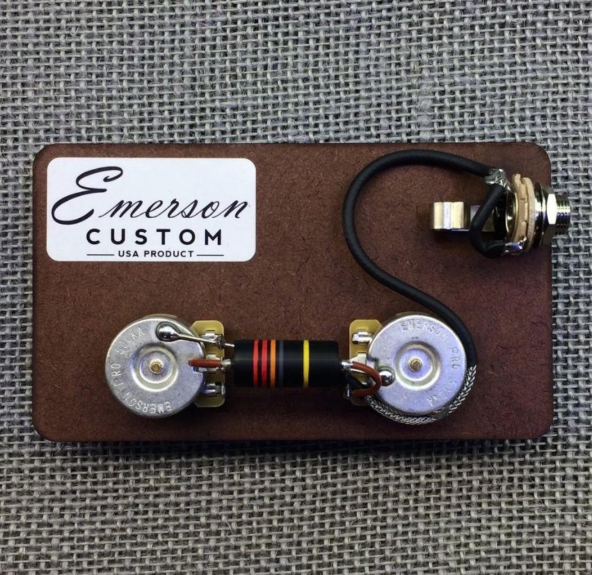 EMERSON LP-BB-JR LES PAUL JUNIOR PREWIRED KIT ($74 USD)
