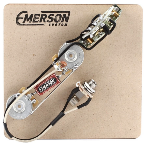 EMERSON CUSTOM TELE 3-WAY 500K PRE-WIRED ASSEMBLY