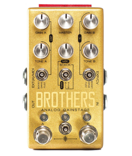 CHASE BLISS BROTHERS DRIVE/FUZZ/BOOST ($349 USD)