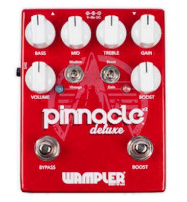 WAMPLER PINNACLE DELUXE V2 DISTORTION PEDAL ($239.97 USD)