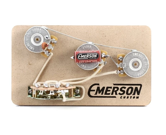 EMERSON CUSTOM STRAT 5-WAY 250K BLENDER PRE-WIRED ASSEMBLY