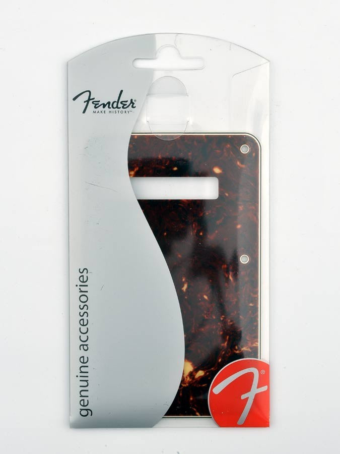 Fender 4-Ply Strat Backplate - Tortoise Shell