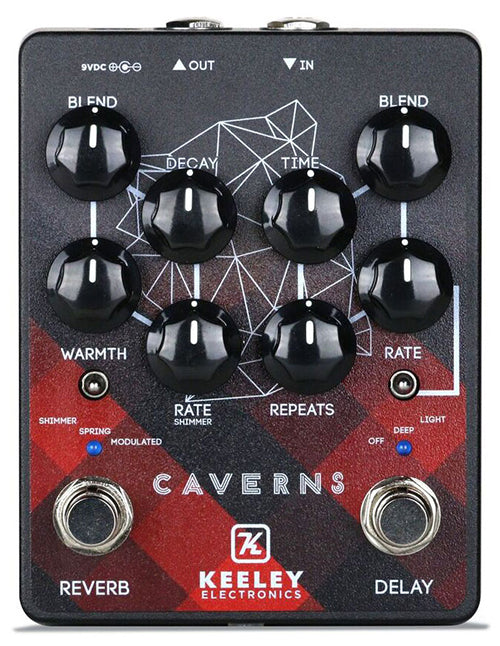Keeley Caverns Delay Reverb v2 - Canadian Edition