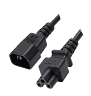 Temple Audio IEC To C5 Adaptor Cable