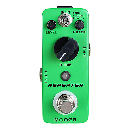 Mooer MDL1 Repeater 3 Modes Digital Delay