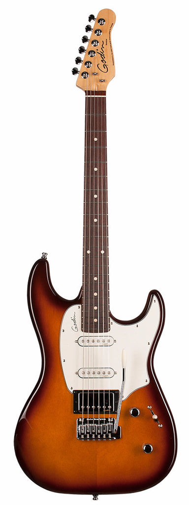 Godin Session Electric Guitar - Light Burst High Gloss/Rosewood