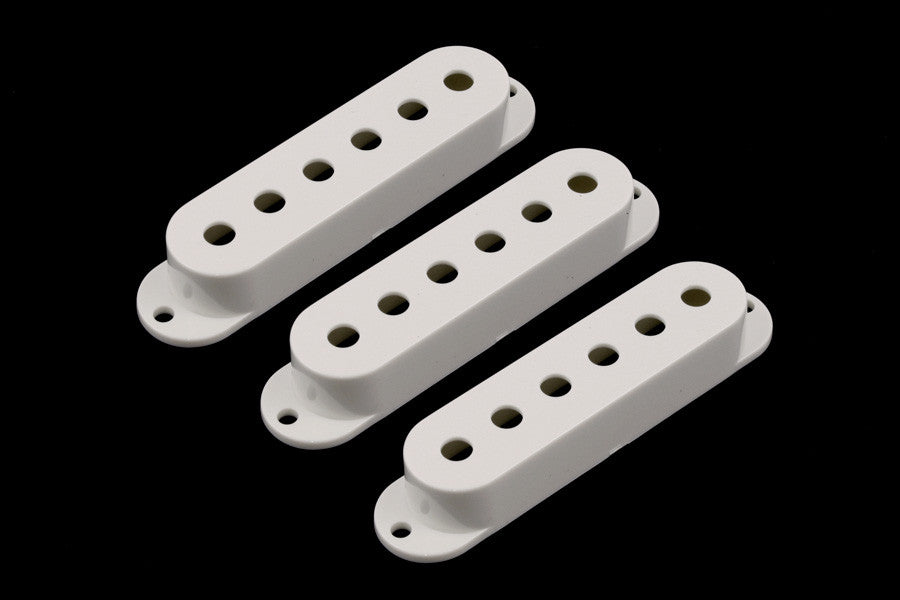 Allparts Pickup Cover Set For Strat (3 Pieces) - Parchment