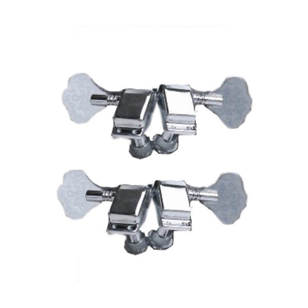Ping Closed-Back Bass Tuning Machines - Chrome (Pack Of 4)
