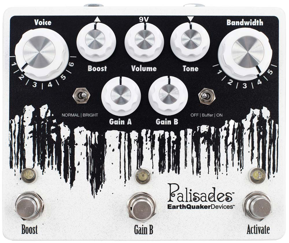 Earthquaker Devices Palisades V2 Mega Ultime Overdrive Pedal