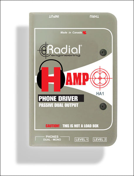 Radial H-Amp Headphone Driver