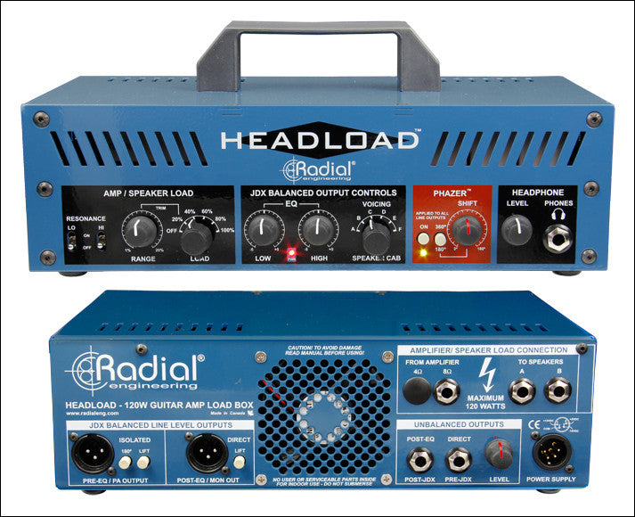 Radial Headload - Guitar Amp Load Box