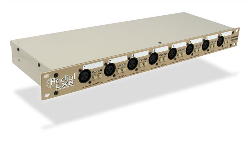 Radial LX8 Line Level Signal Splitter and Isolator