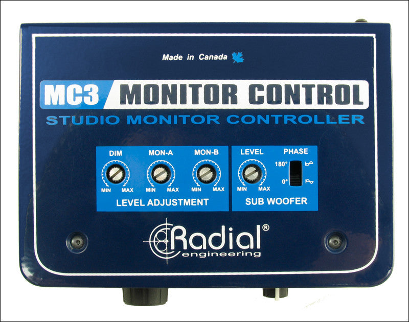 Radial MC3 v2 Monitor Controller