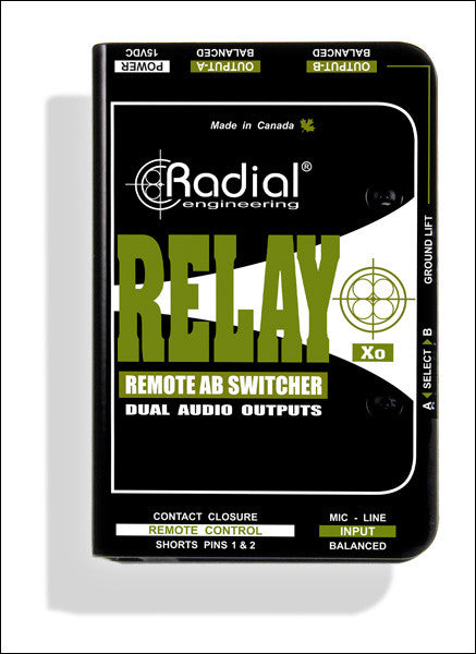 Radial Relay Xo Balanced Remote AB Switcher
