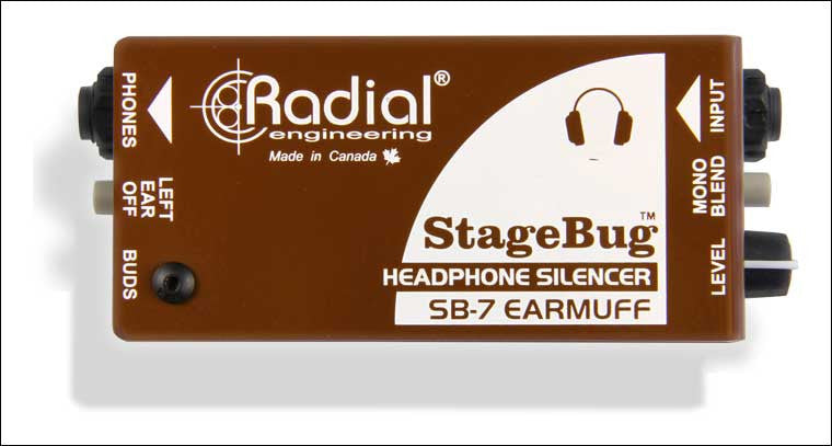 Radial StageBug SB-7 Earmuff Headphone Silencer