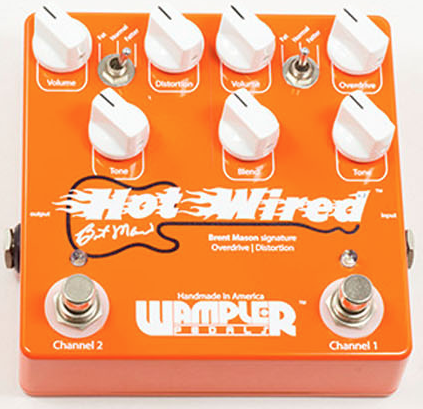 Wampler Hot Wired Overdrive/Distortion Pedal