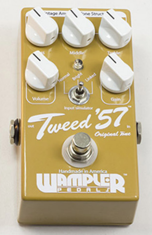 Wampler Tweed 57 Overdrive Pedal