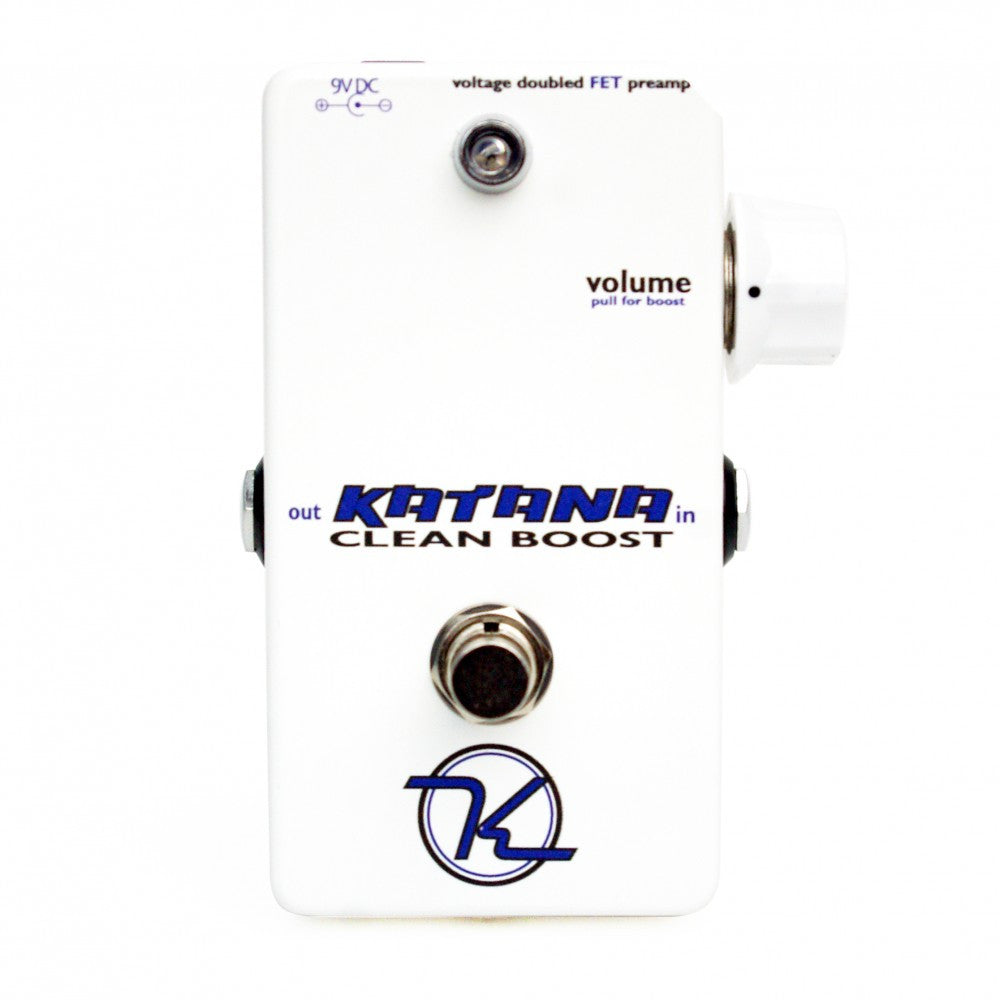 Keeley Katana Clean Boost Pedal