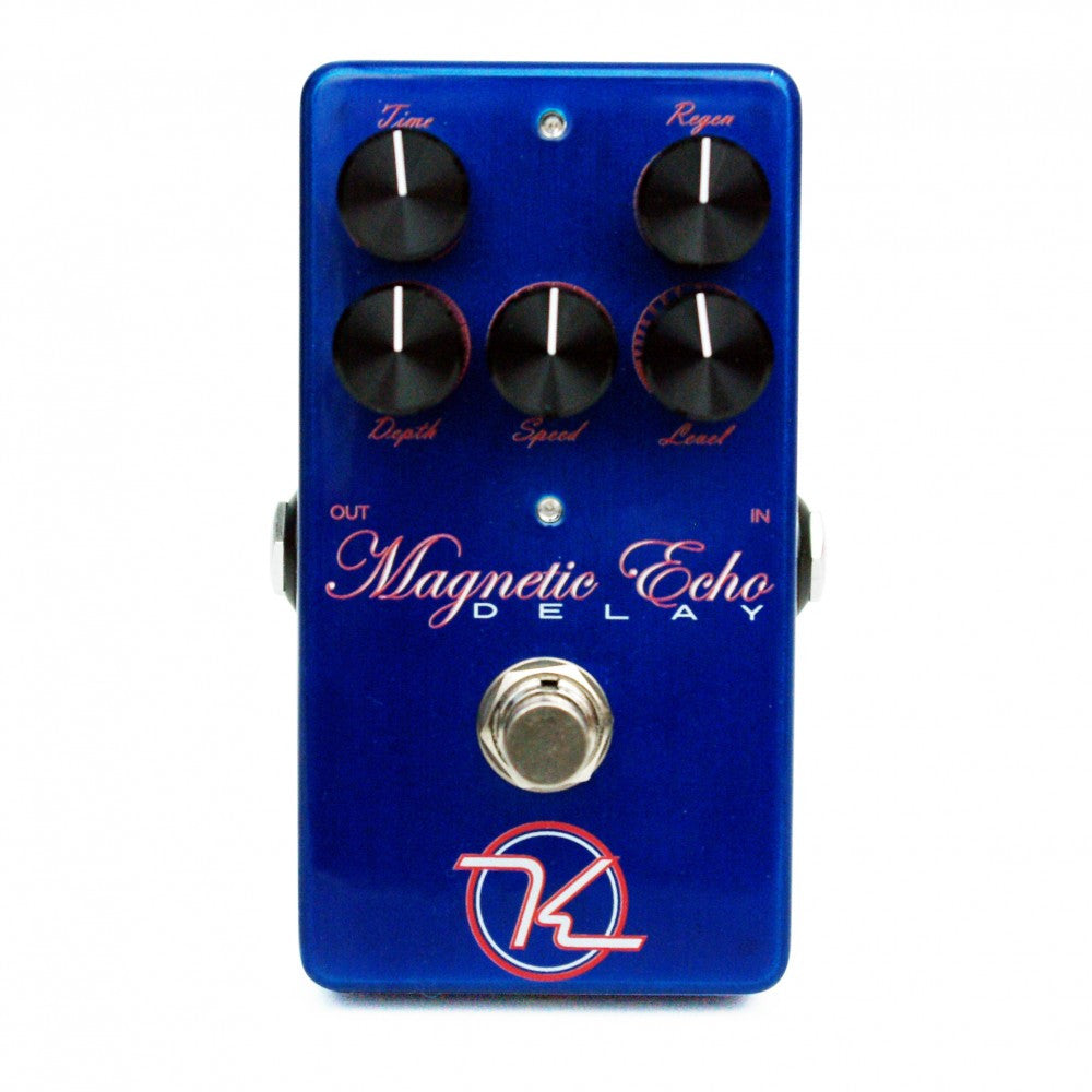 Keeley Magnetic Echo Tape-Like Delay And Modulation Chorus Pedal