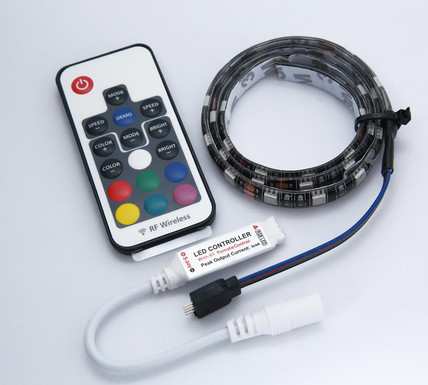 Temple Audio RGB LED Light Strip With Remote (For Duo 17)