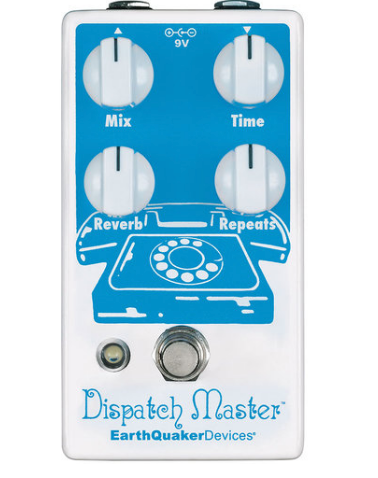 EARTHQUAKER DEVICES DISPATCH MASTER V3 DELAY & REVERB PEDAL ($199 USD)