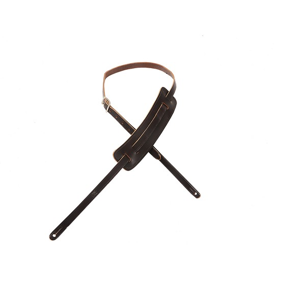 Levy's 50's Style 'RnR' Leather Strap - Dark Brown