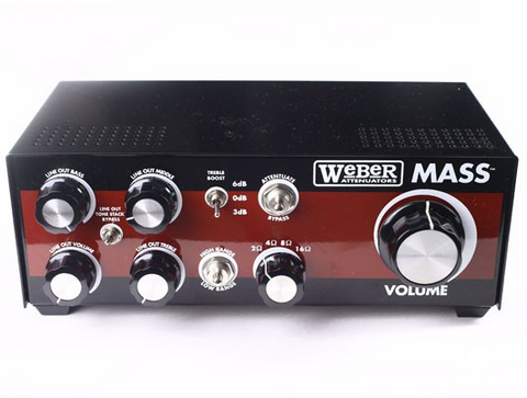 Weber Mass 100W Attenuator (Headphone Tap + Balanced Out)