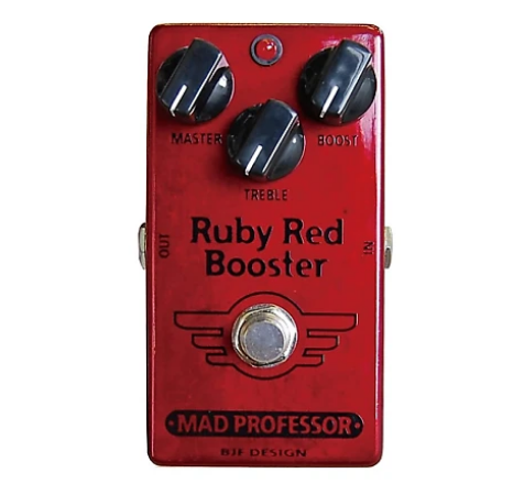 MAD PROFESSOR RUBY RED BOOSTER PEDAL (PCB)