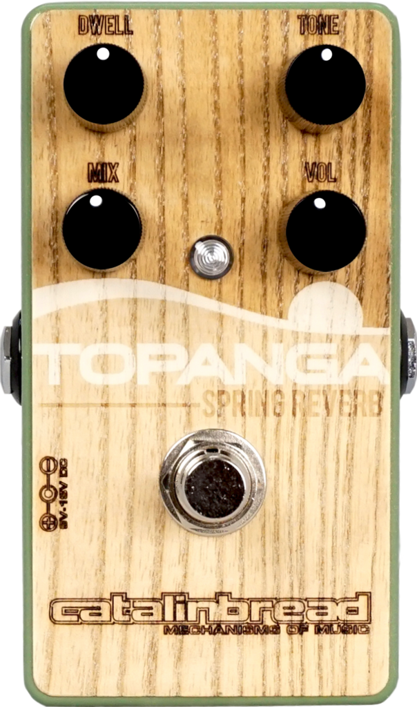 Catalinbread Topanga Spring Reverb - Woody Edition