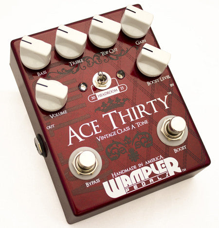 Wampler Ace Thirty Overdrive Pedal