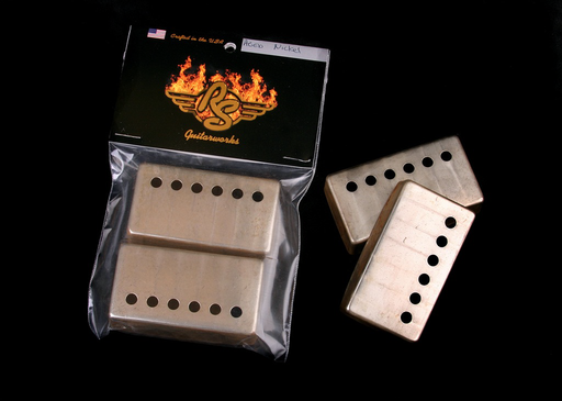 RS Guitarworks Aged Nickel Humbucker Pickup Covers (Set of 2)