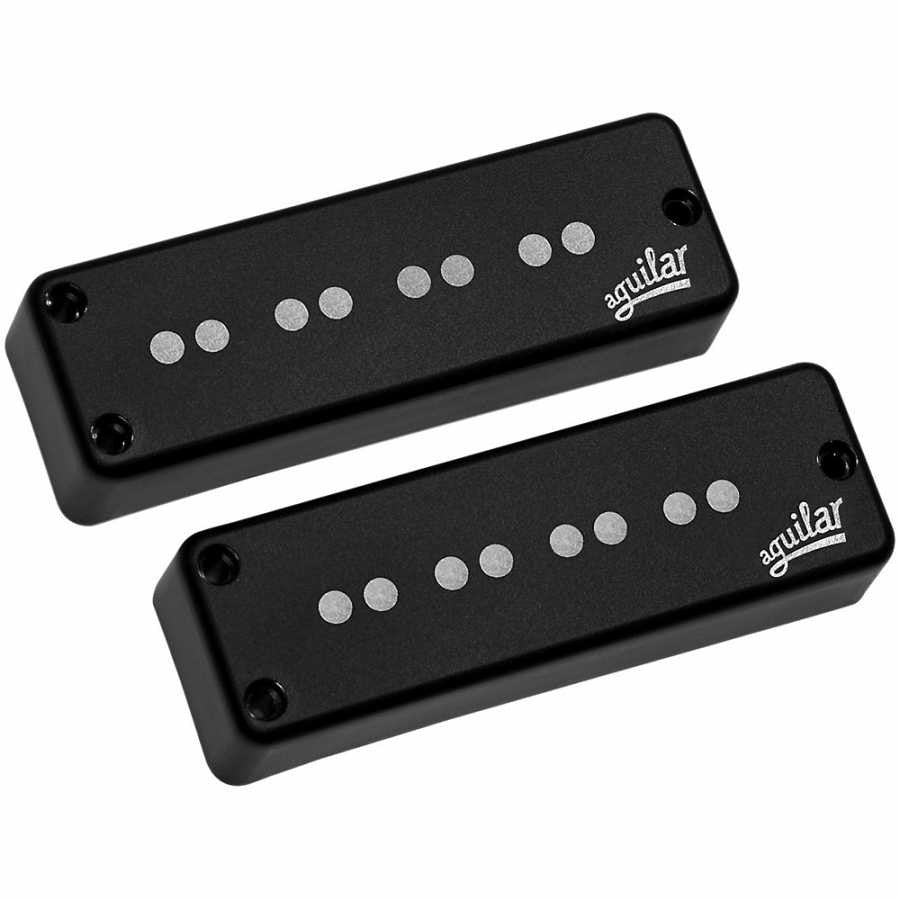 AGUILAR AG 4SS-D1 SUPER SINGLE 4-STRING SINGLE COIL SOAP BAR SET/D1 SIZE