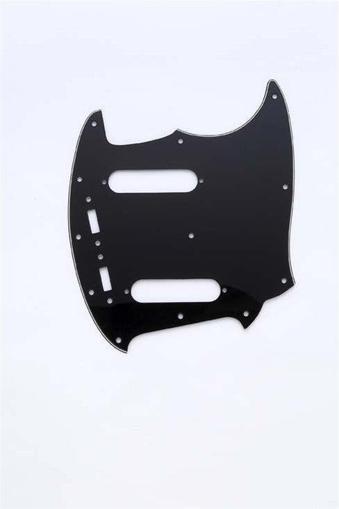 Allparts 3-Ply Mustang Pickguard - Black