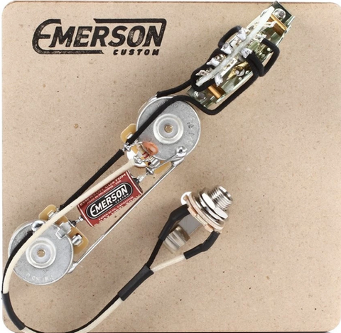 EMERSON CUSTOM TELE 3-WAY 250K PRE-WIRED ASSEMBLY