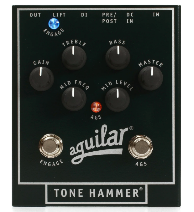 AGUILAR TONE HAMMER PEDAL ($245 USD)