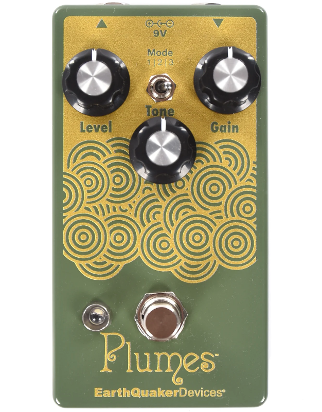 EARTHQUAKER DEVICES PLUMES SMALL SIGNAL SHREDDER PEDAL ($99 USD)